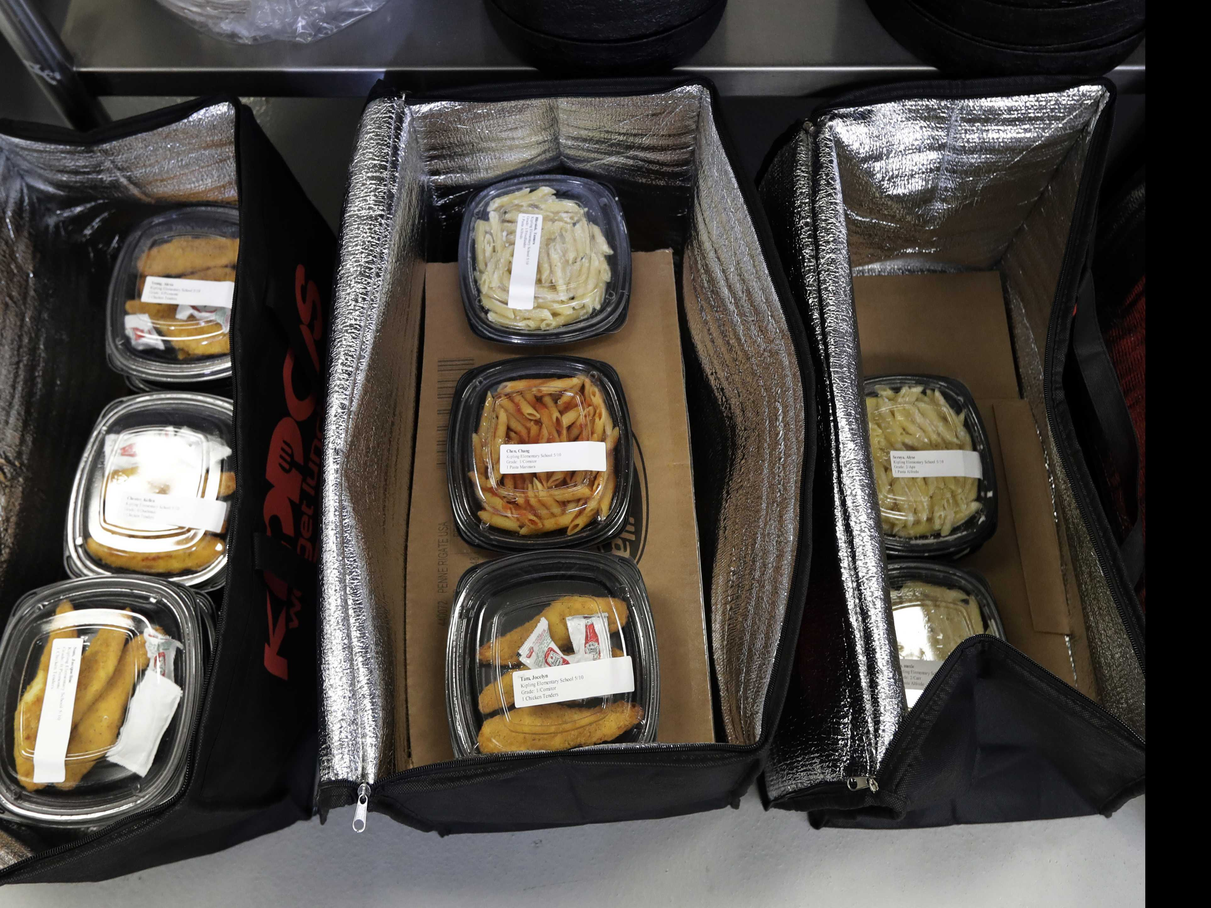 Food Deliveries Are Remaking School Lunch