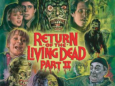 Review :: Return Of The Living Dead Part II