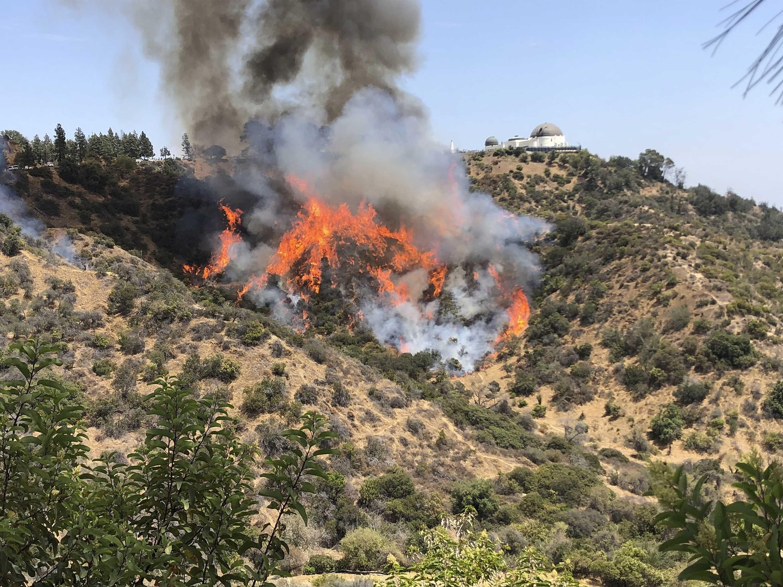 Wildfire Temporarily Shuts LA's 'La La Land' Observatory