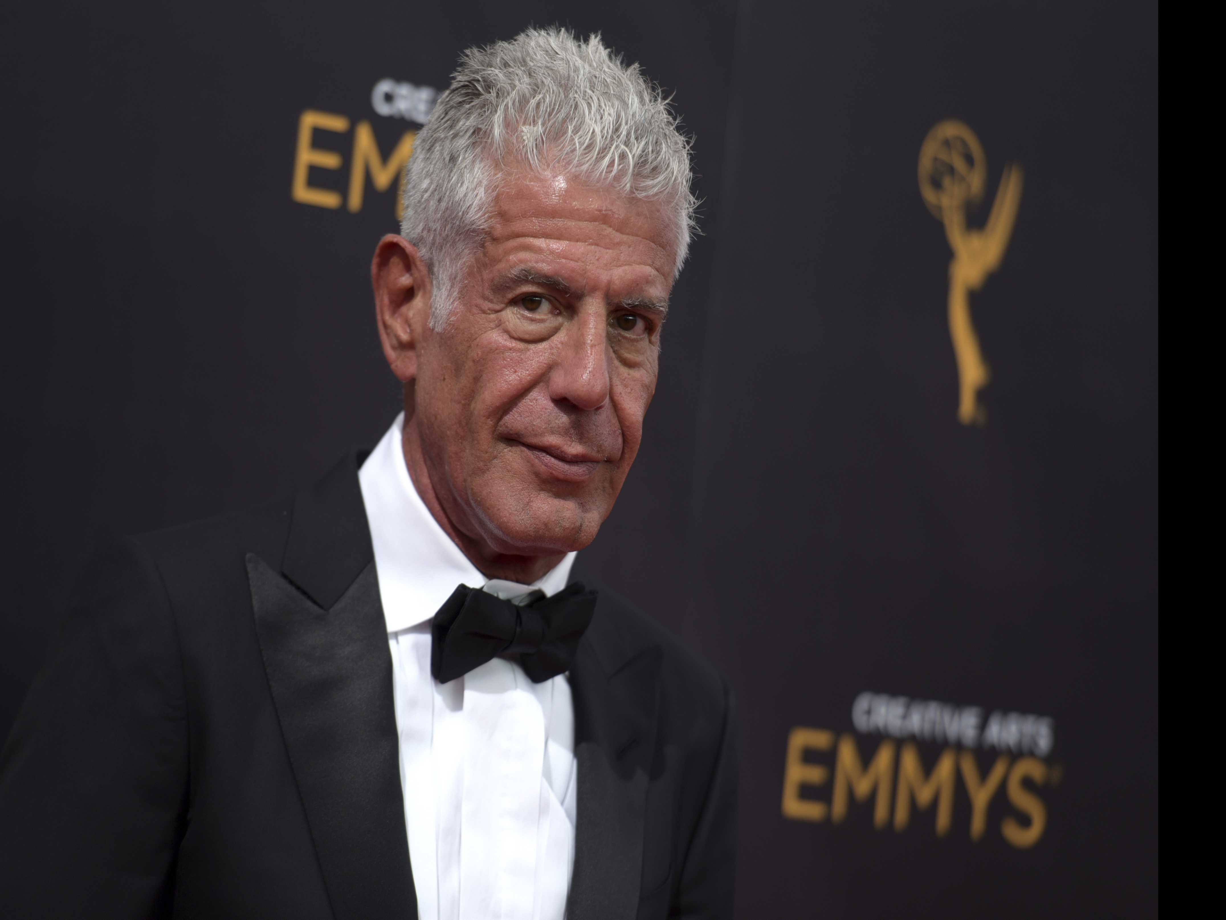Bourdain Gets Posthumous Emmy Noms for 'Parts Unknown'