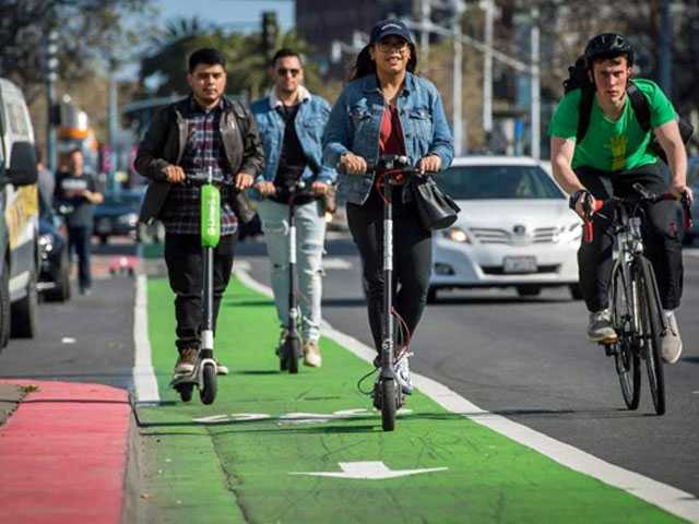 Cities Grappling with How to Deal with Electric Scooters