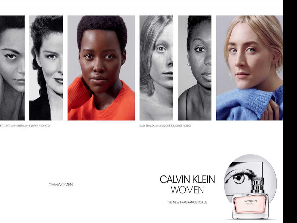 Lupita Nyong'o and Saoirse Ronan Announced as the Faces of Calvin Klein Women