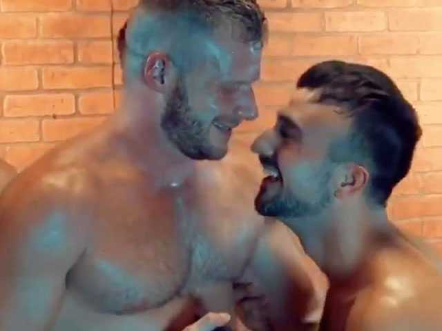 Watch: After Filming Scene, Gay Porn Star Couple Gets Engaged
