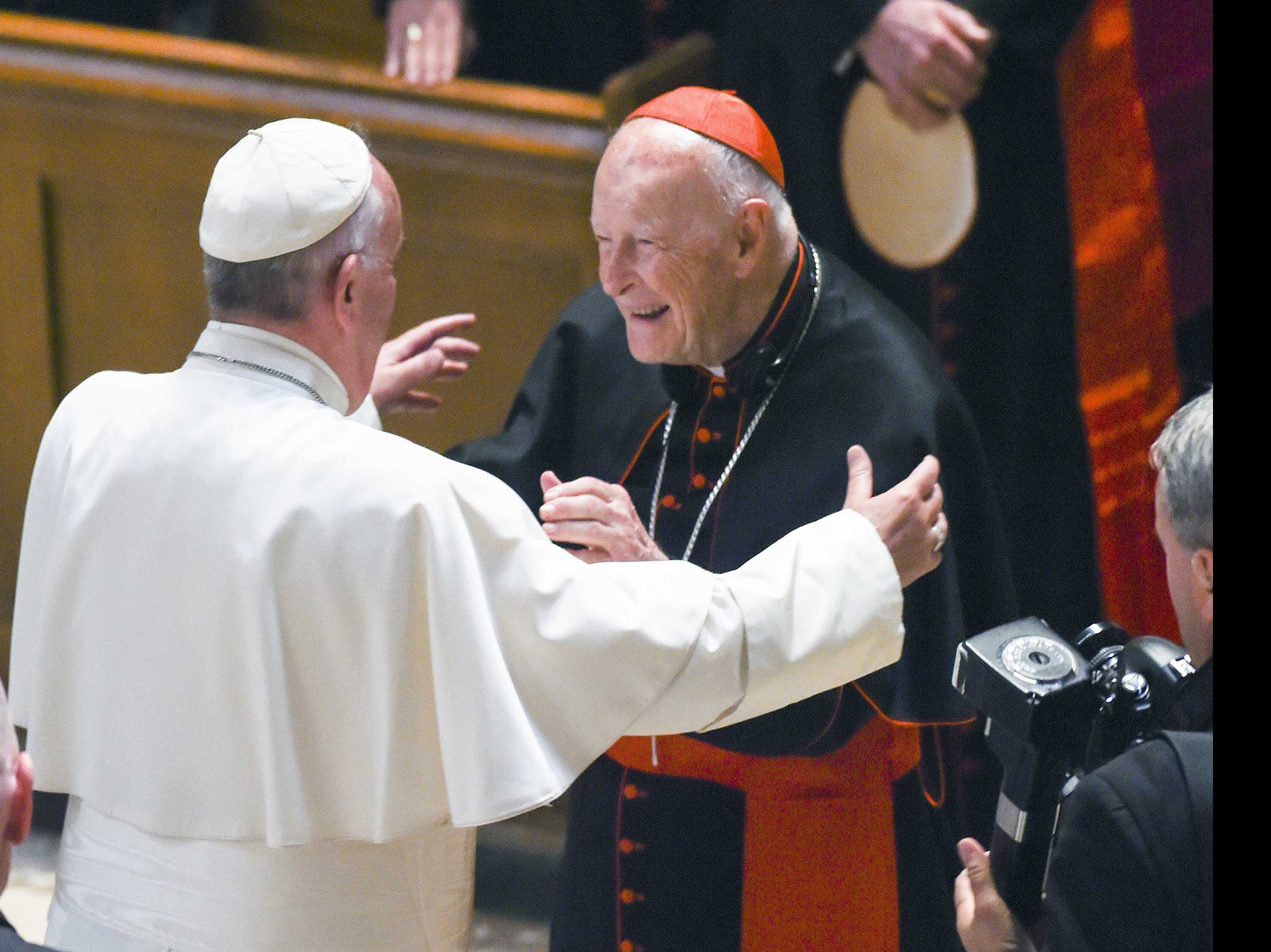 Revelations of US Cardinal Sex Abuse Force Pope's Hand