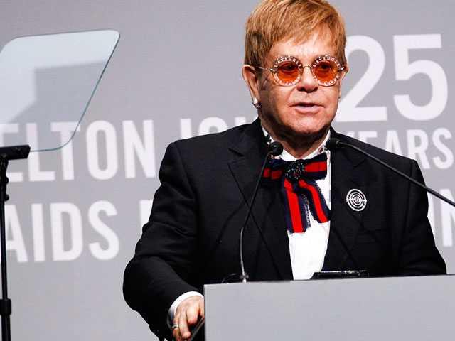 Elton John Announces $1.2 Billion MenStar Coalition to Fight AIDS