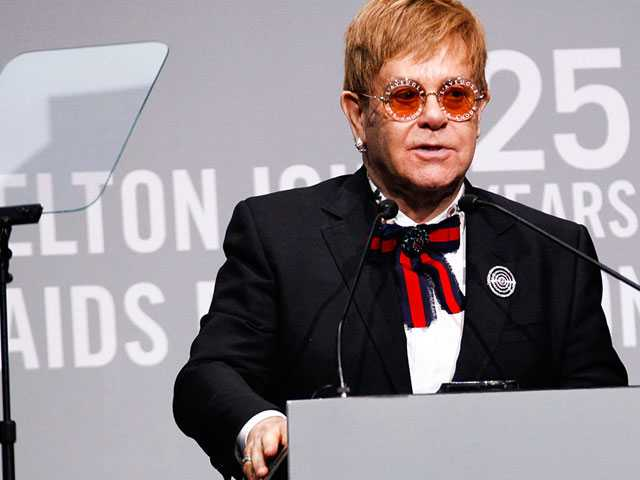 Elton John Announces $1.2 Billion MenStar Coalition to Fight AIDS