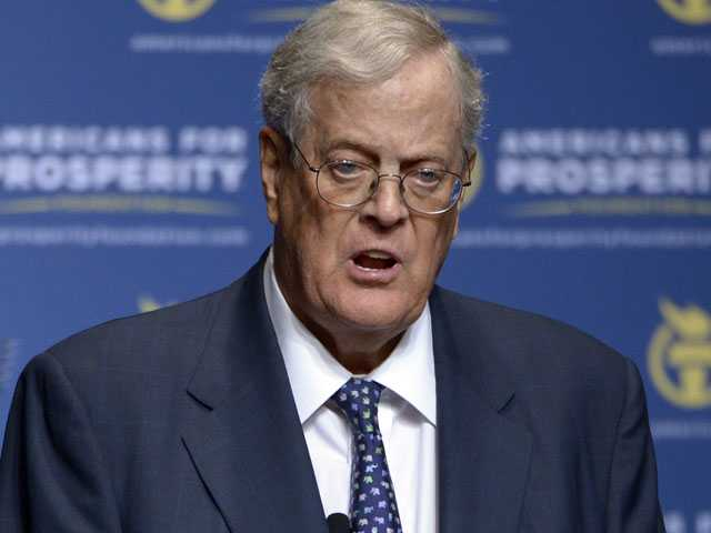 Kochs Won't Help Top GOP Senate Candidate in Key State