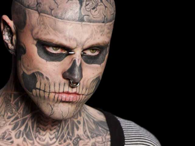 Rick Genest, Star of Gaga's 'Born This Way' Vid, Dies of Apparent Suicide at 32