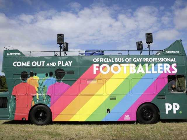 Empty Bus at Brighton Pride Highlights Lack of Gay Footballers