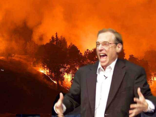 Listen: Pastor Blames Calif. Wildfires on LGBTQ People - Again