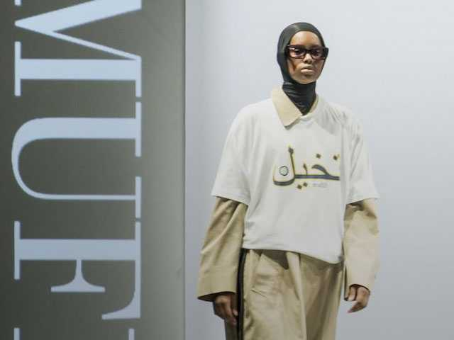 Danish Designer Uses Runway to Make Statement on Burqa Ban