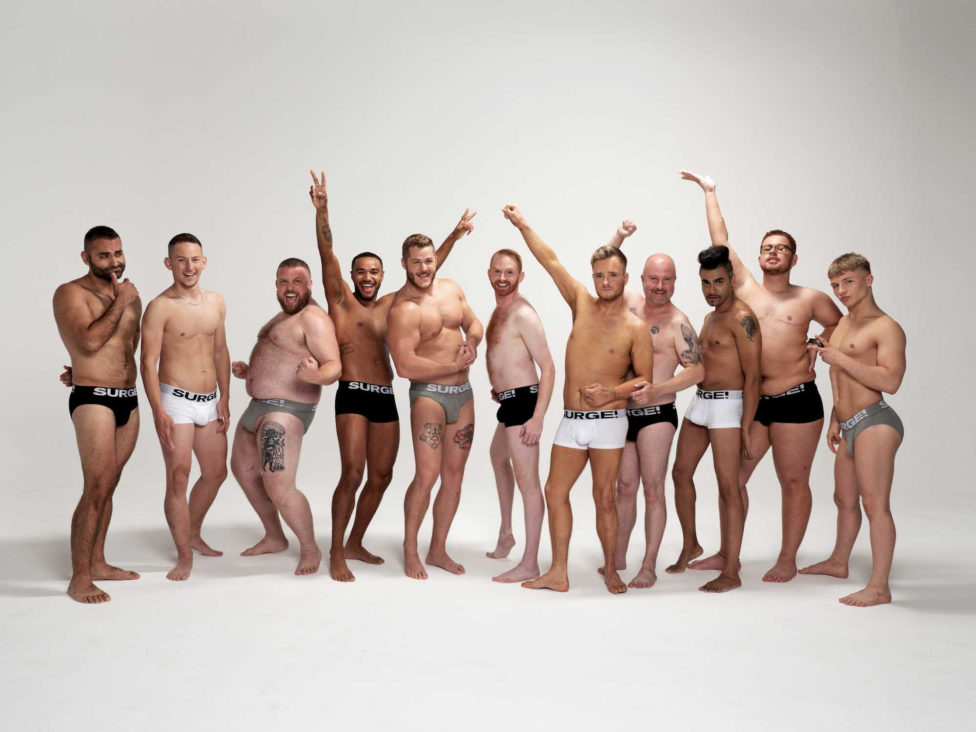 Surge Underwear Embraces Body Diversity