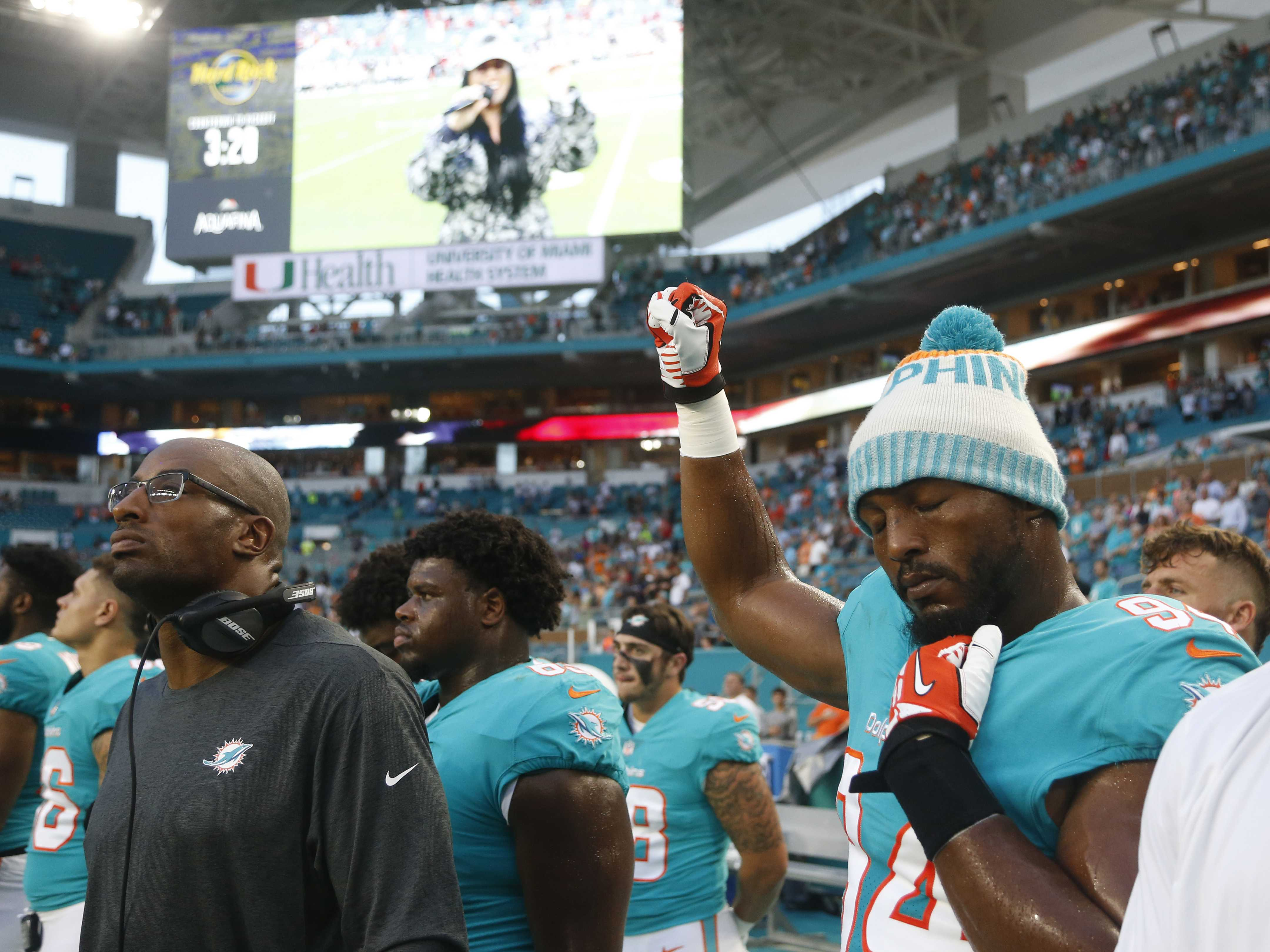 NFL Players Emphasize Reasons for Anthem Demonstrations