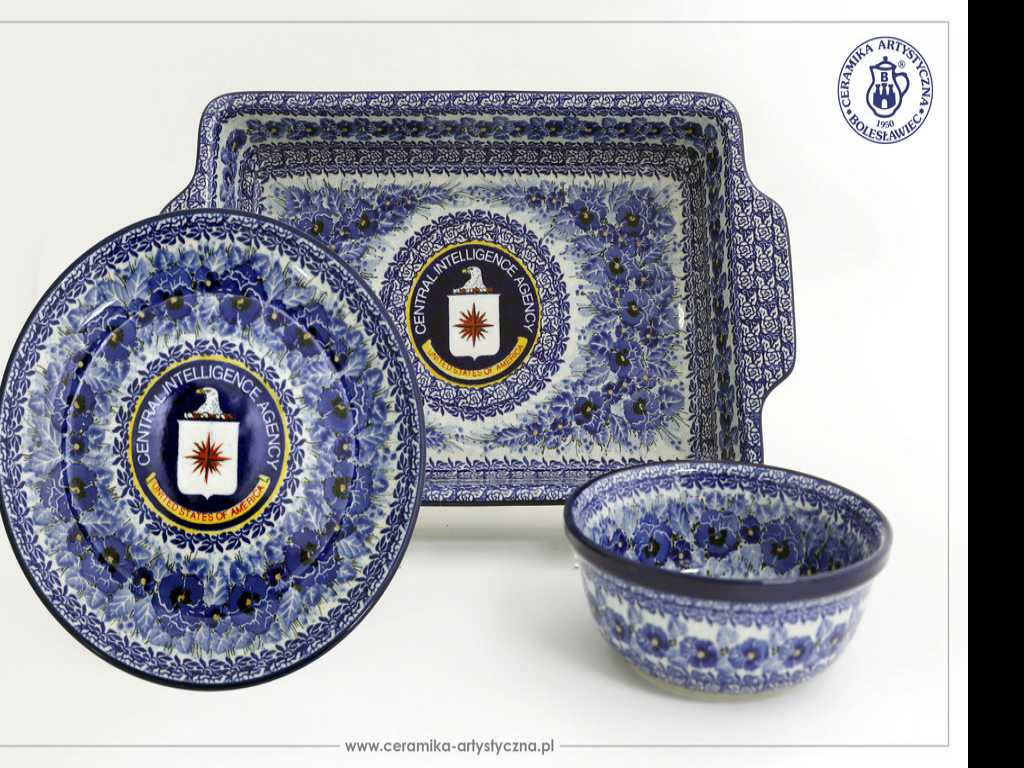 Secretly Handmade for the CIA: Pottery from Poland