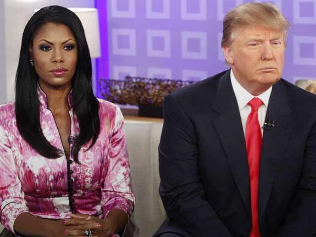 Trump and Omarosa Spar Over Claim He Used N-Word