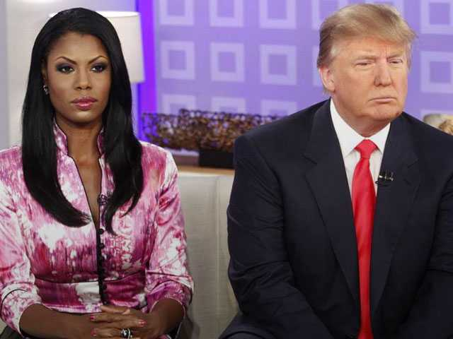 Trump and Omarosa Spar Over Claim He Used N-Word