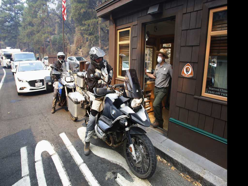 Yosemite Reopens with Smoky Air and Limited Lodging