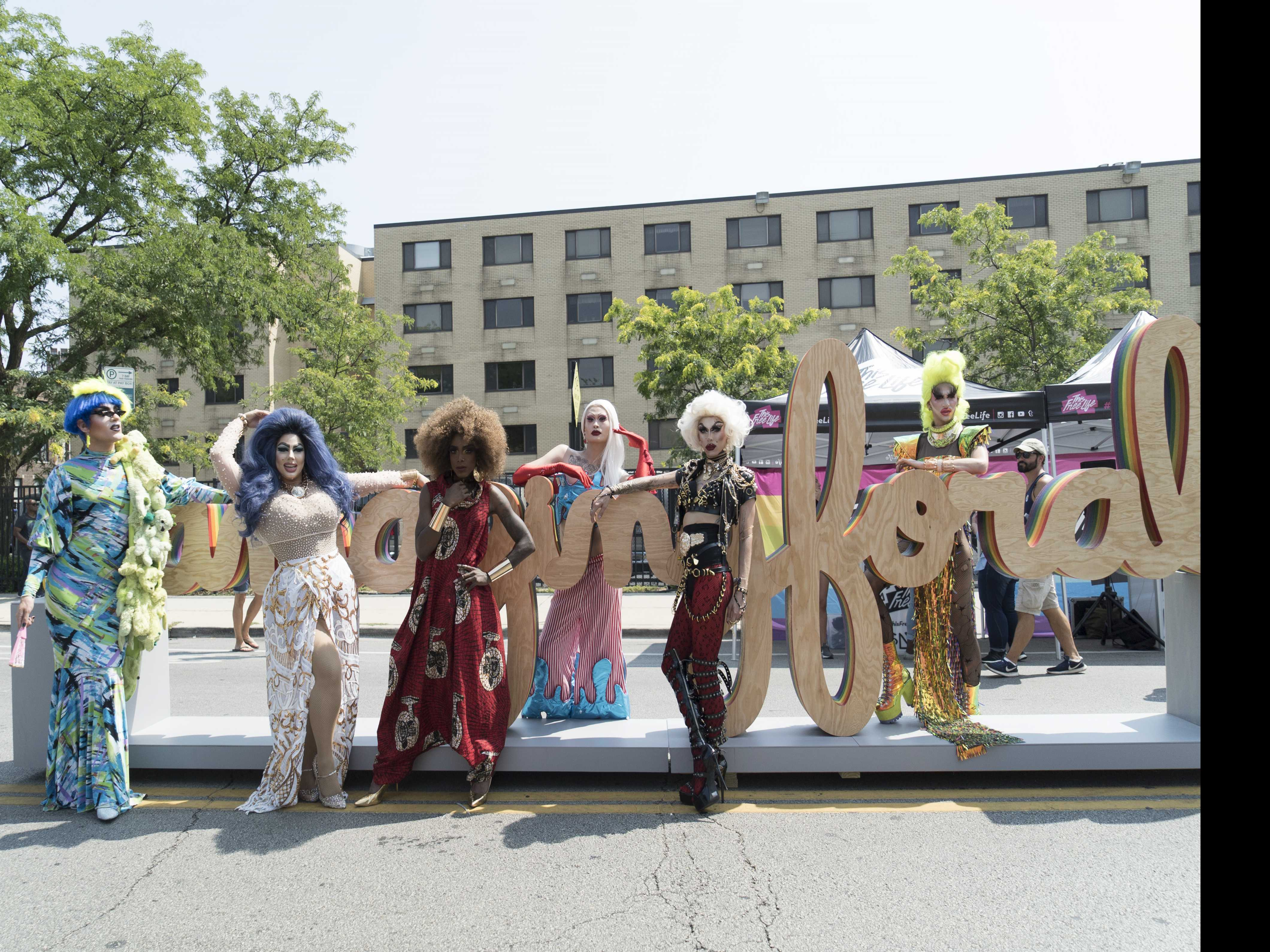 LGBTQ Art Installation Revealed at Chicago's Northalsted Market Days