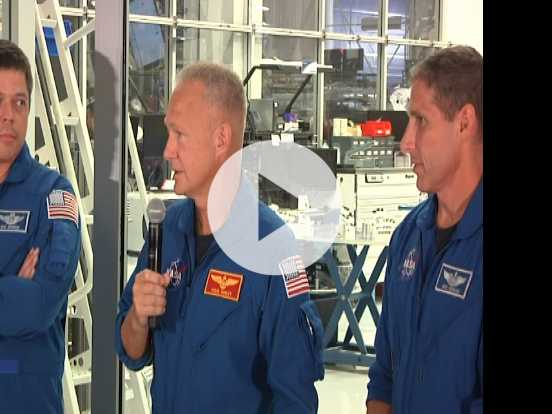 NASA Astronauts, SpaceX COO Talk 'Crew Dragon'