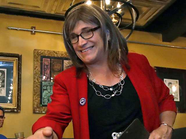 1st Transgender Candidate for Governor Focused on the Issues
