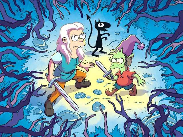 Matt Groening's 'Disenchantment,' on Netflix, is Missing Some Magic