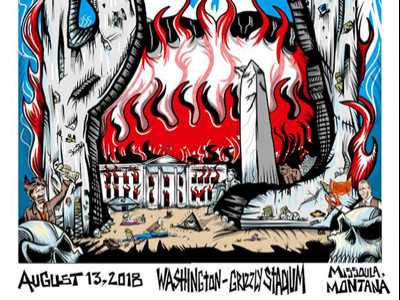 Republicans Blast Pearl Jam Poster of Burning White House