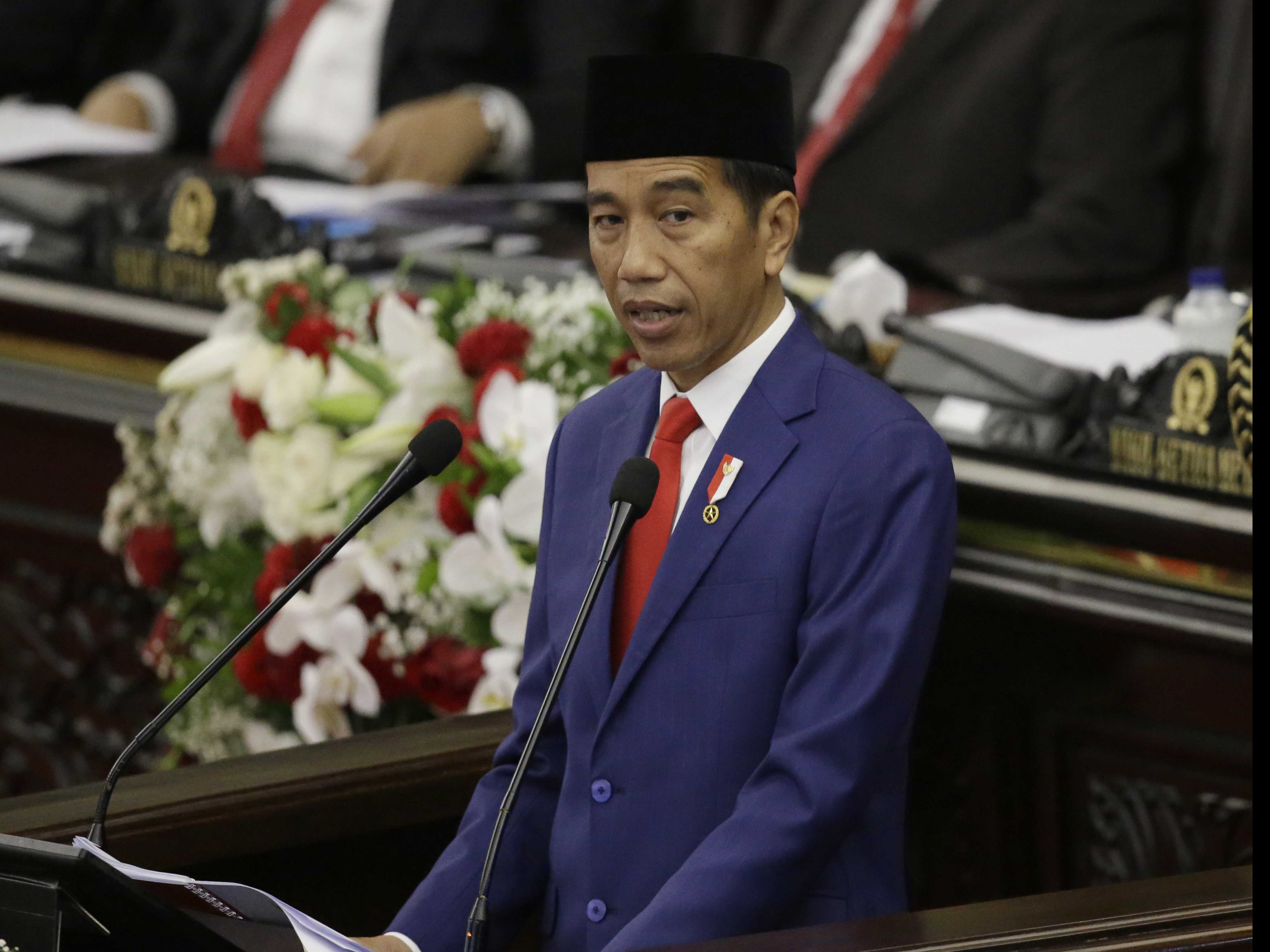 Indonesian President Urges Tolerance in Annual Speech