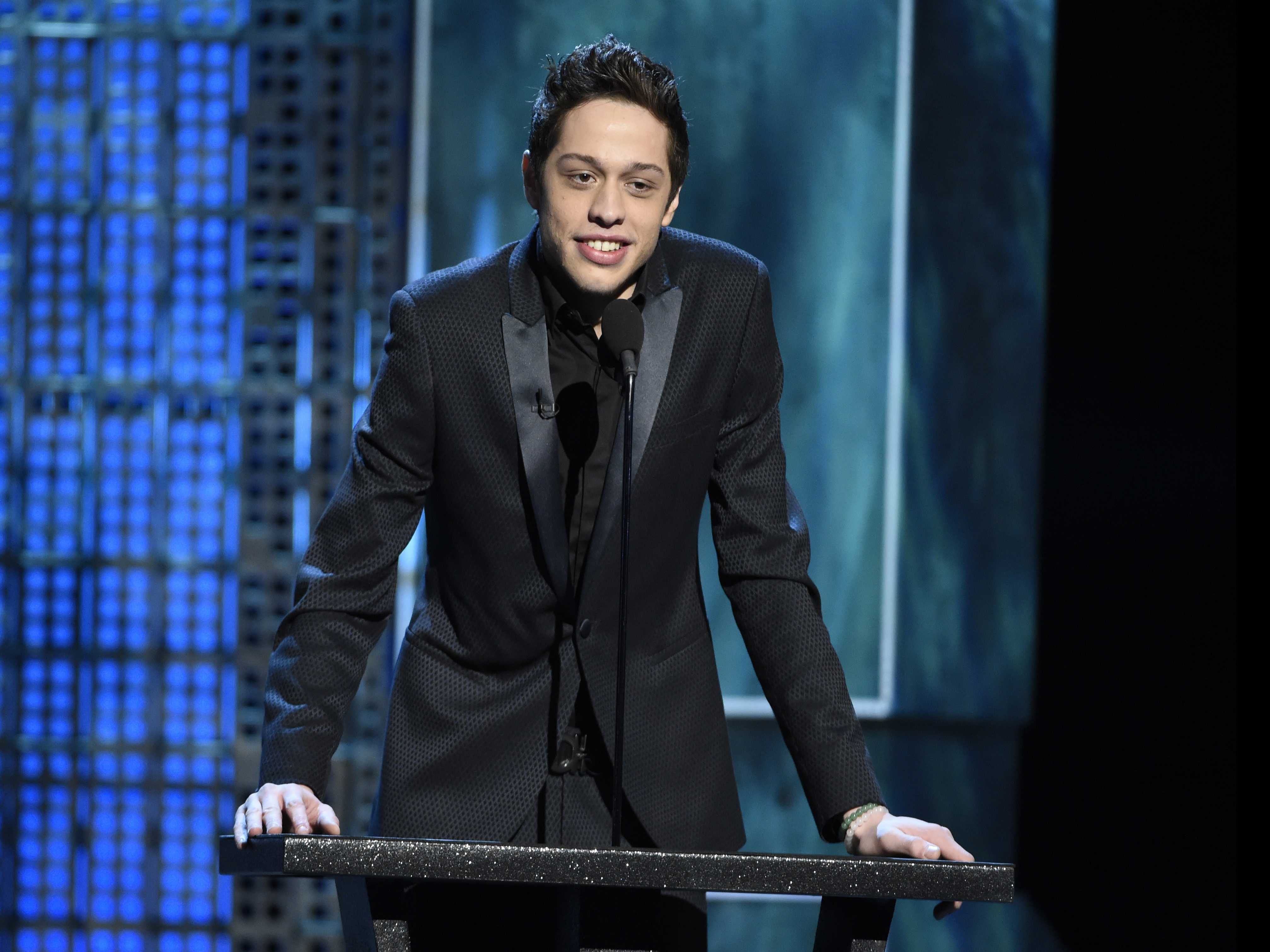 Pete Davidson Talks to GQ about Love and Ariana Grande
