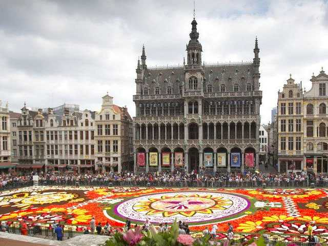 Brussels Celebrates Summer with Flower Carpet