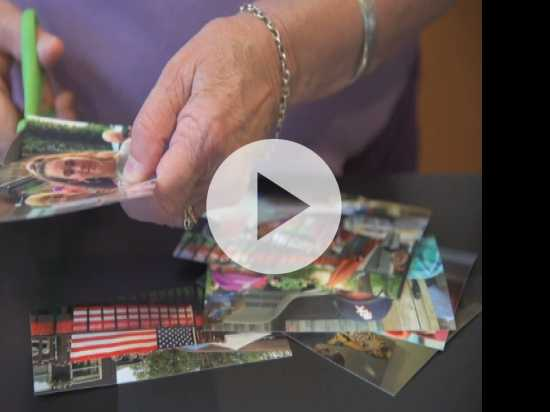 Scrapbooks Keep Memories Safe From Alzheimer's
