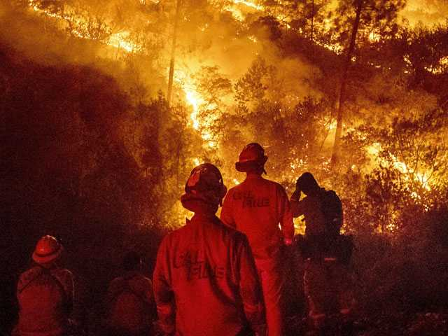 Science Says: Hotter Weather Turbocharges U.S. West Wildfires