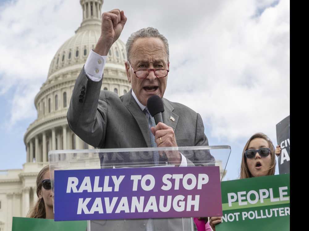 Fearful of Losing Roe, Left Pushes Schumer for Action