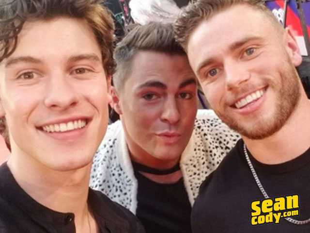 PopUps: Gus Kenworthy Meets Shawn Mendes, Shares Hilarious Sean Cody Pic