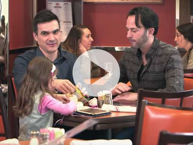 Watch: Gay Dads Publicly Shamed on Hidden Camera Show 'What Would You Do?'