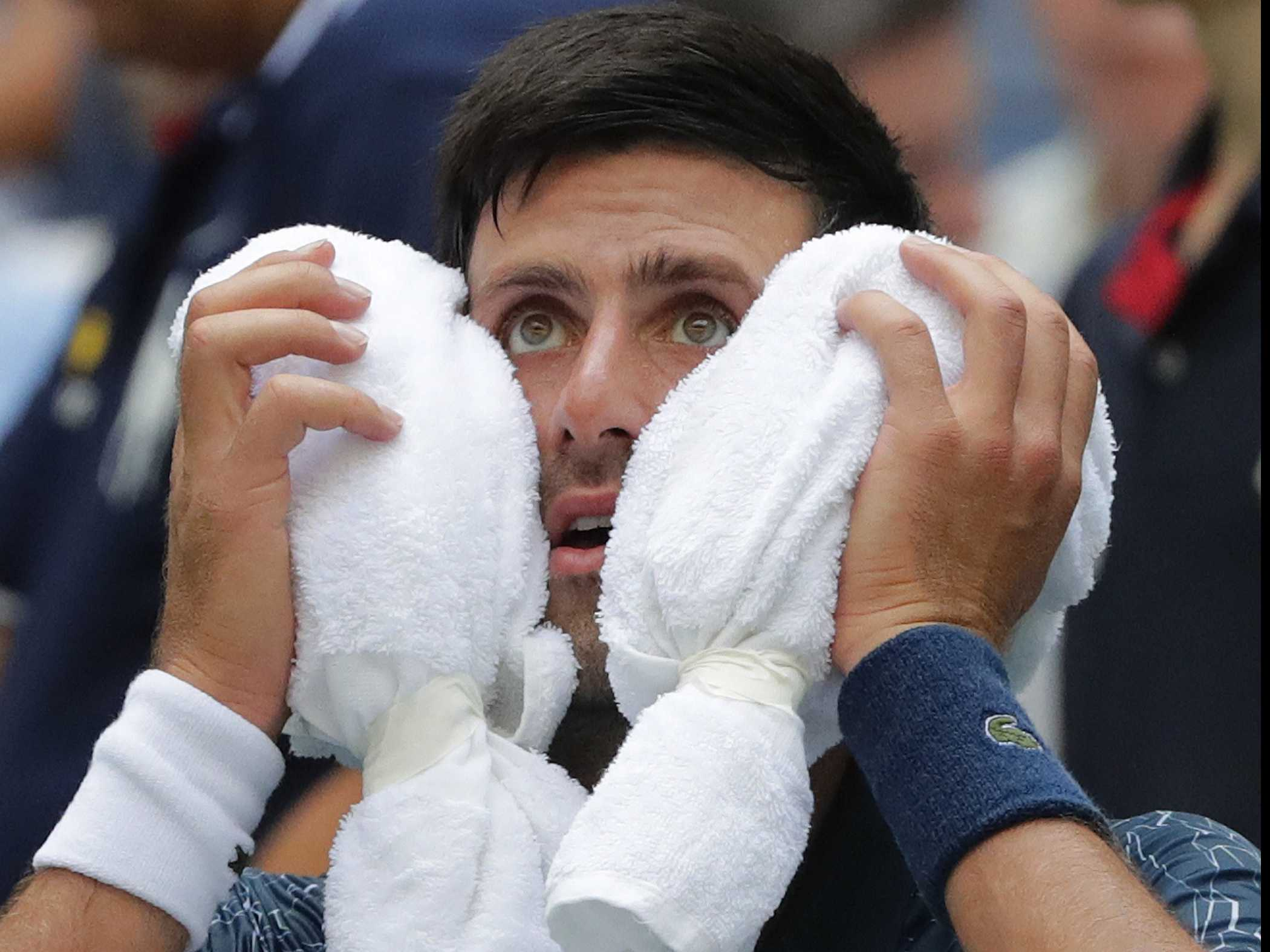 Red Hot: Players Face Brutal Conditions at Steamy US Open