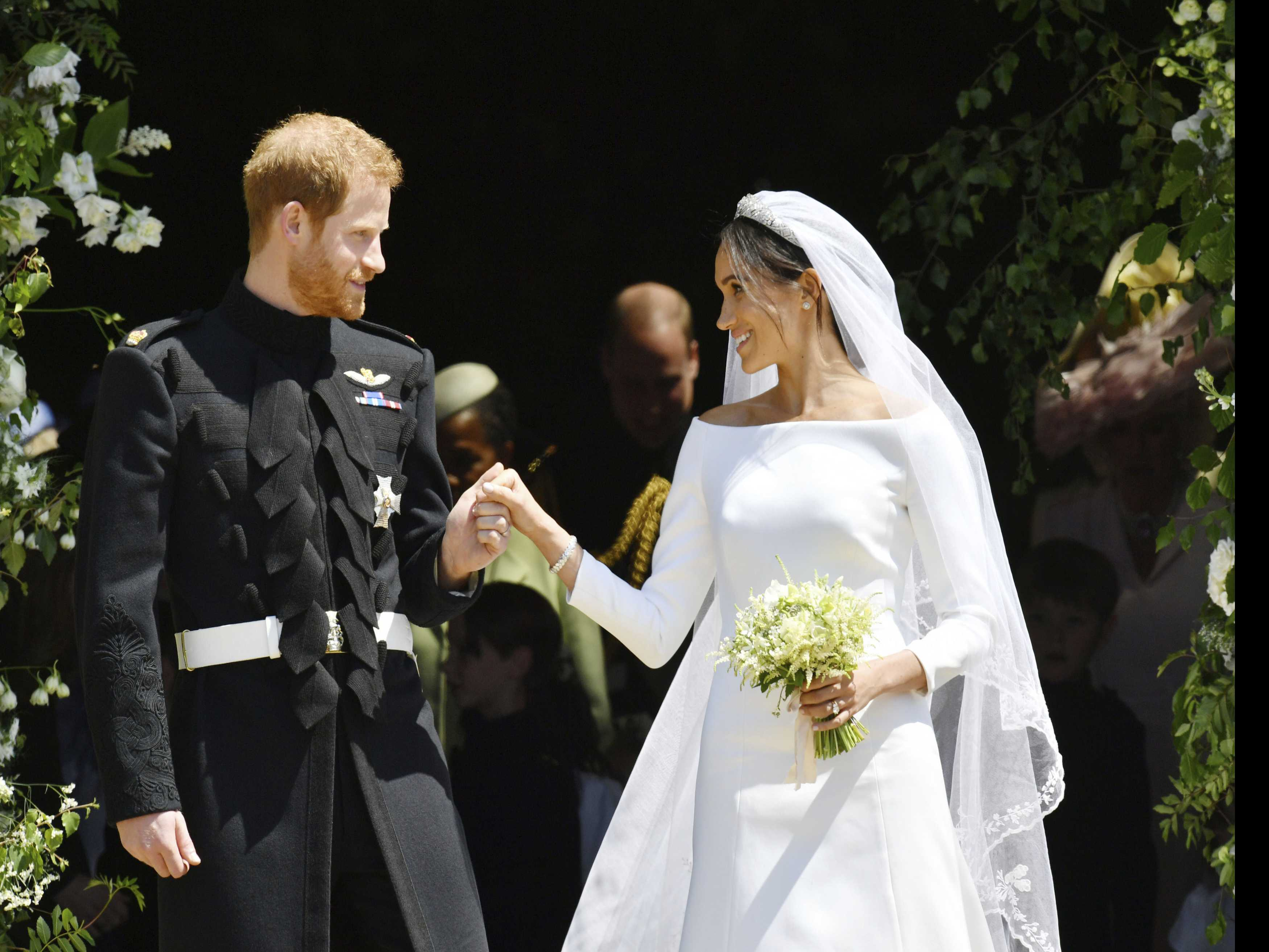 Harry and Meghan's Wedding Outfits to Go on Public Display