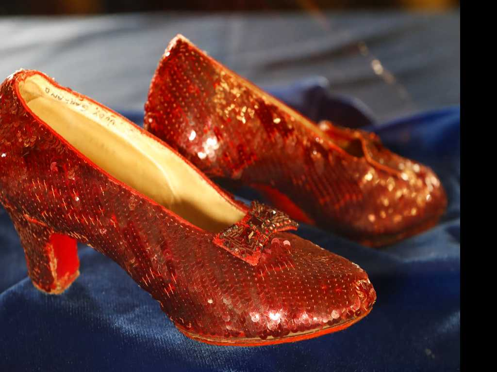 Sting Operation Recovered Dorothy's Ruby Slippers