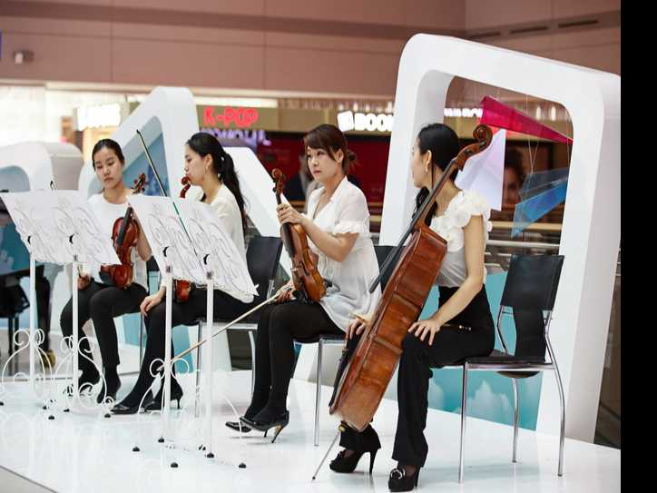 'Culture Touch the Sky' at Incheon International Airport