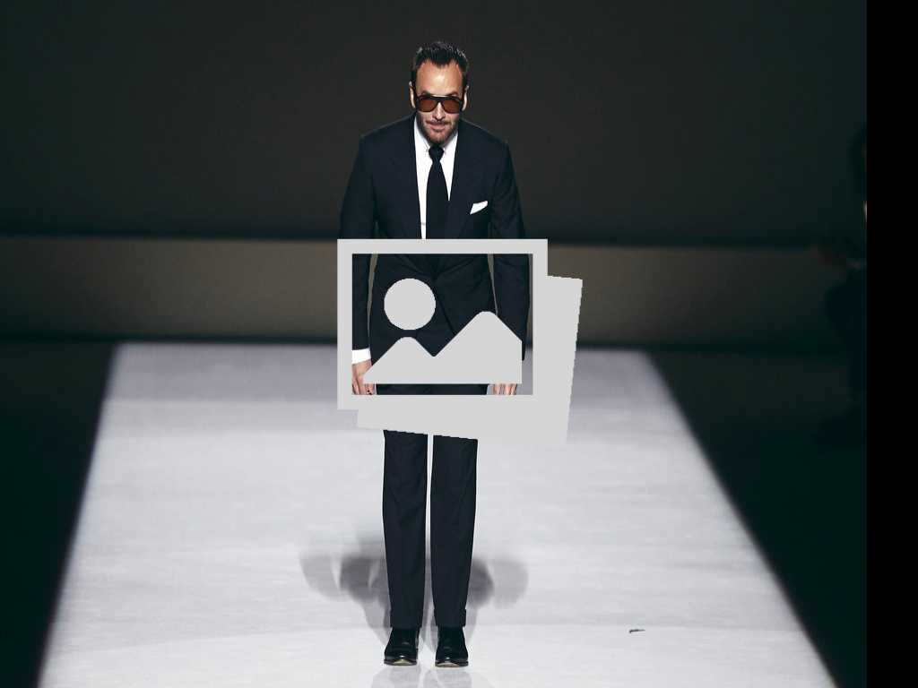 Look: Tom Ford Kicks Off New York Fashion Week