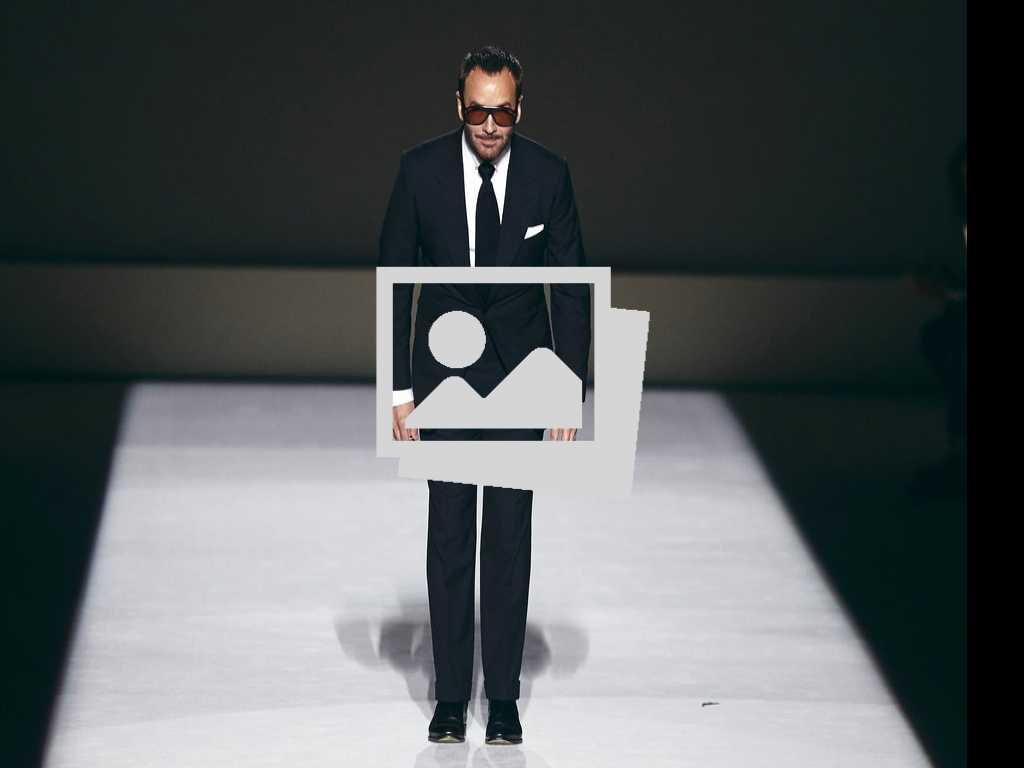 Look: Tom Ford Kicks Off New York Fashion Week