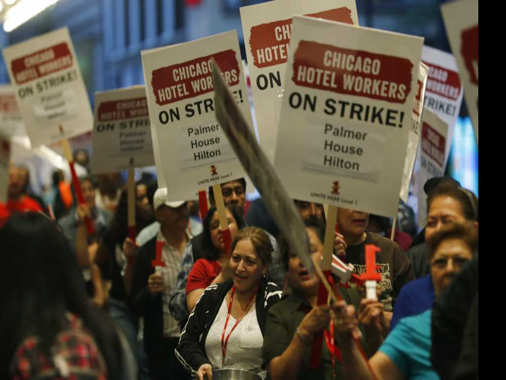 Day 5: Chicago Hotel Strike Continues