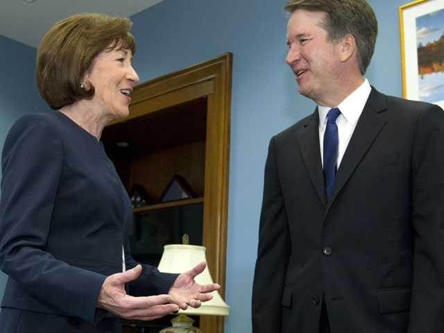 $1 Million Pledged Against Collins if She Backs Kavanaugh