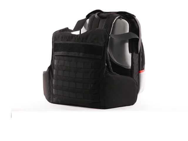 Israeli Backpack Deploys Bulletproof Vest