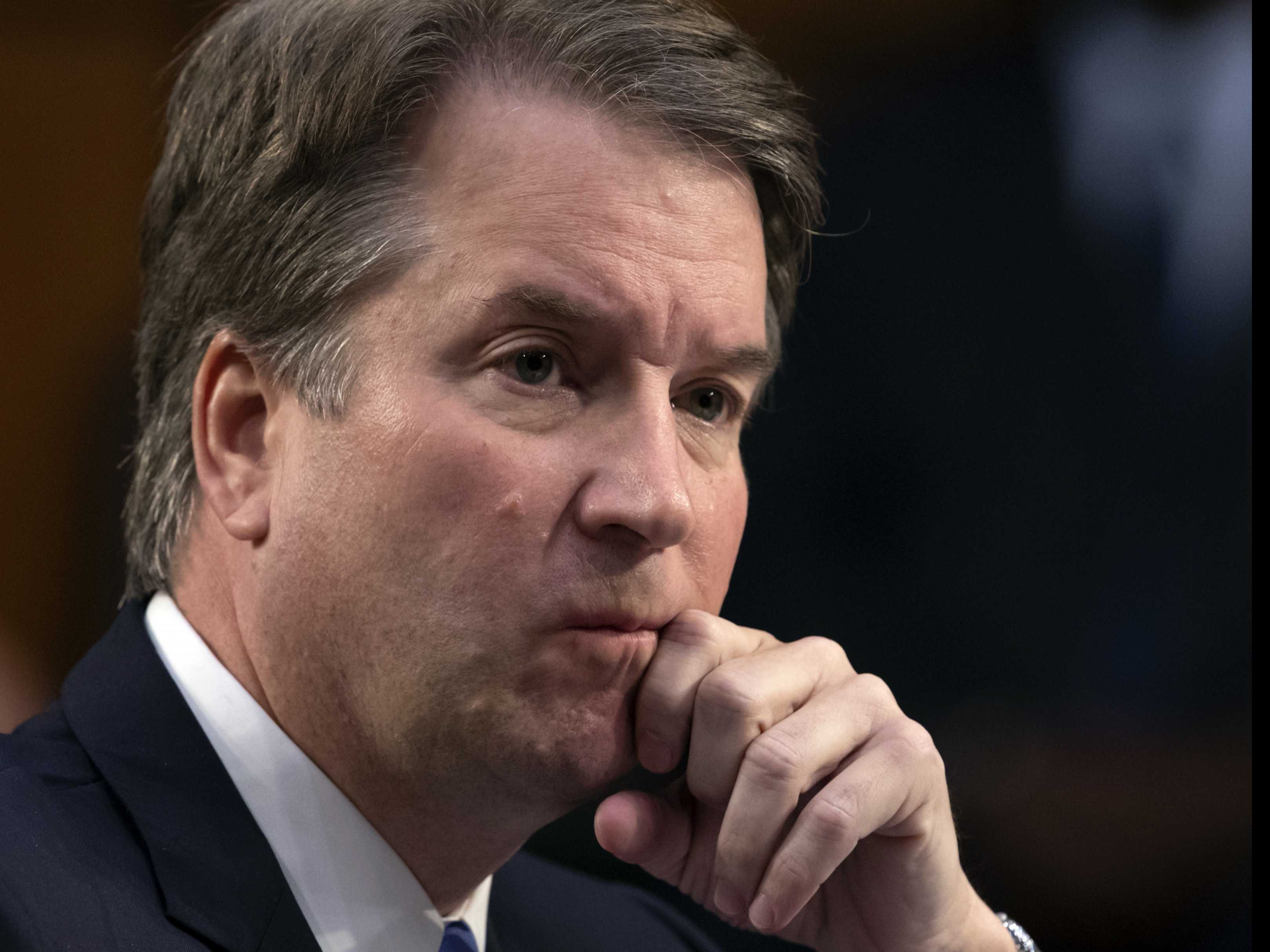Kavanaugh Willing to Talk to Panel, Arrives at White House