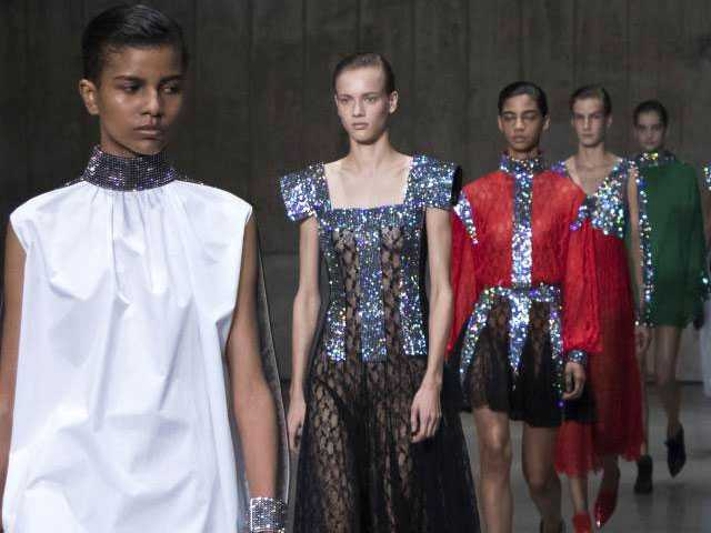 More From London Fashion Week: Christopher Kane & Burberry