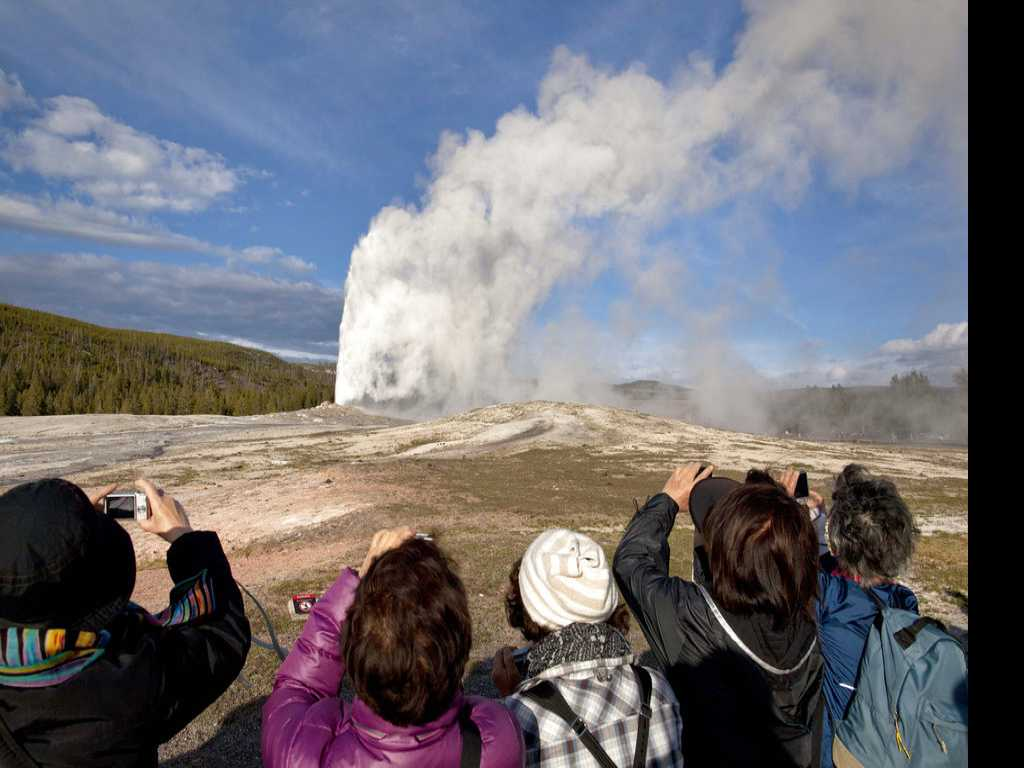 Man Gets Tickets For Walking Near Boiling-Hot Old Faithful