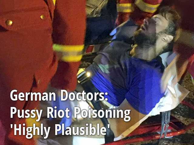 German Doctors: Pussy Riot Poisoning 'Highly Plausible'