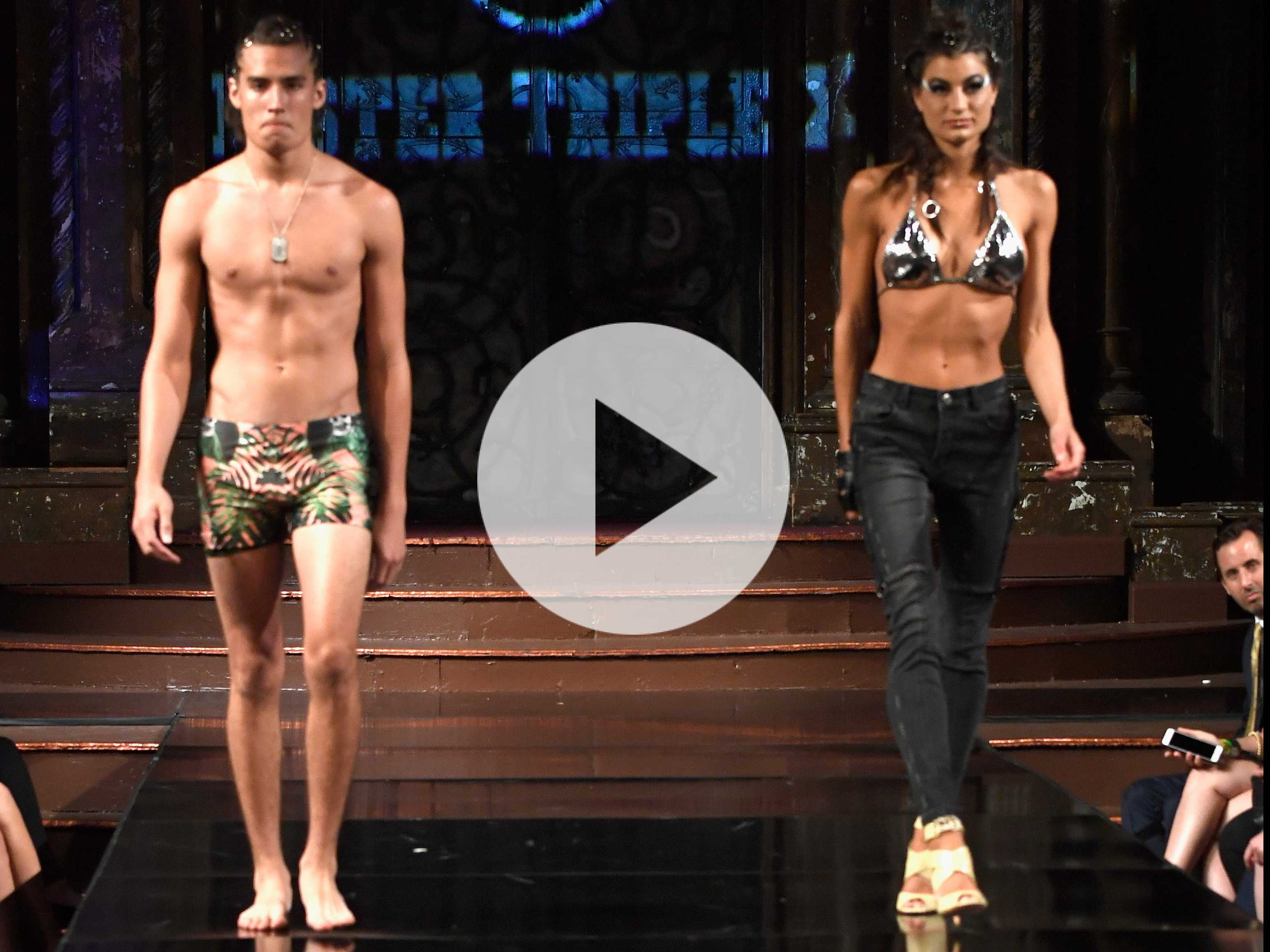 Watch the Runway: Mister Triple X at New York Fashion Week