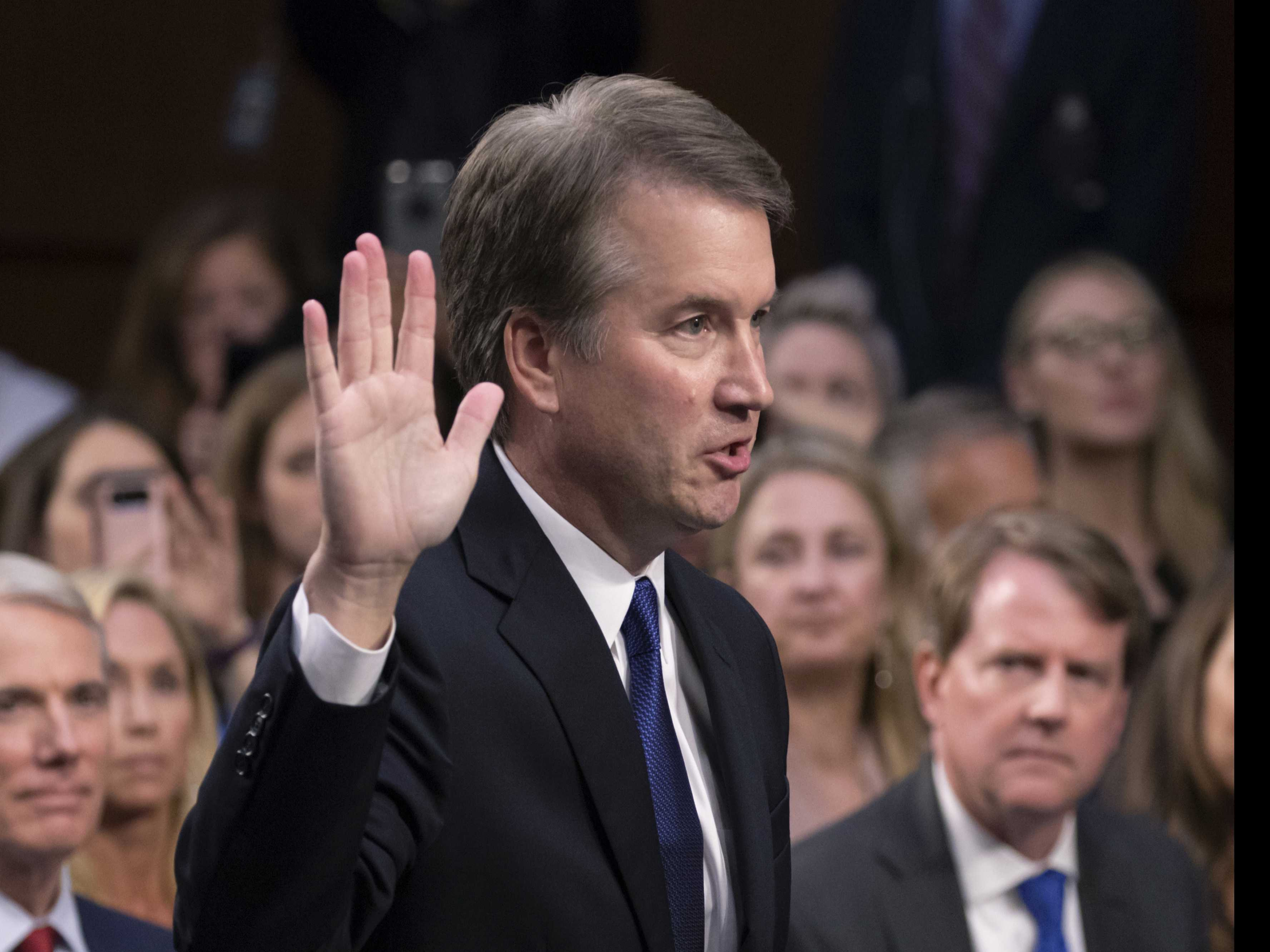 How 65 Women Came to Kavanaugh's Defense in Matter of Hours