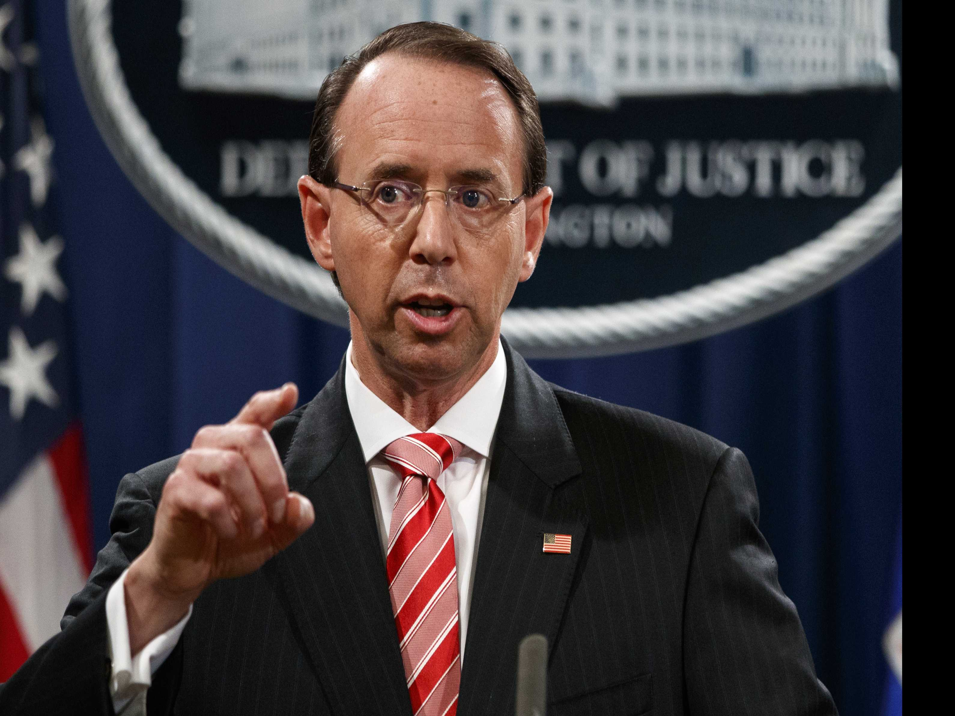 Rosenstein's Fate Could Turn On Which Account Trump Believes